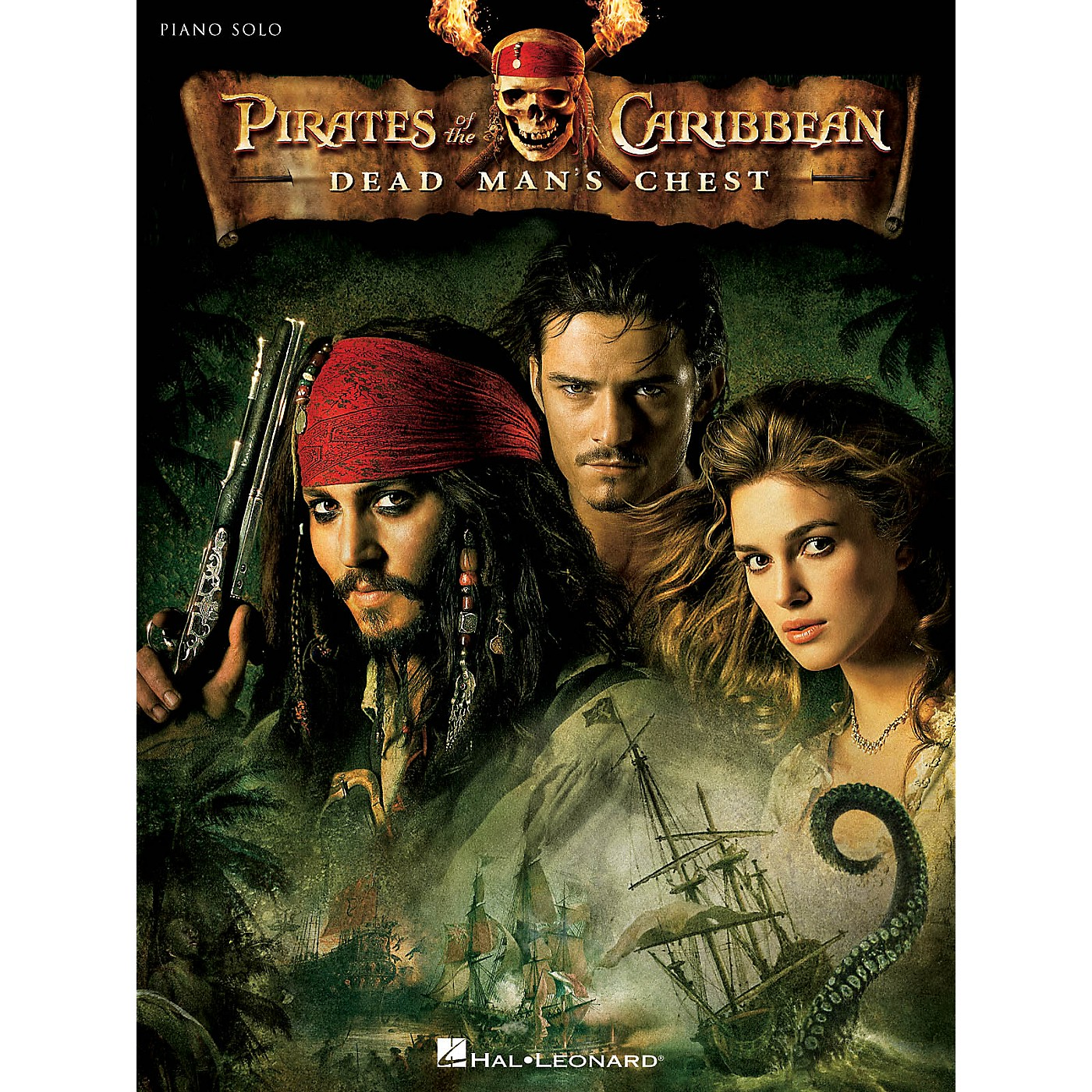 Hal Leonard Pirates of the Caribbean: Dead Man's Chest (Highlights from) Concert Band Level 3 by Ted Ricketts thumbnail