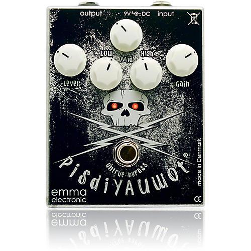 Emma Electronic PisdiYAUwot Metal Distortion Guitar Effects Pedal thumbnail