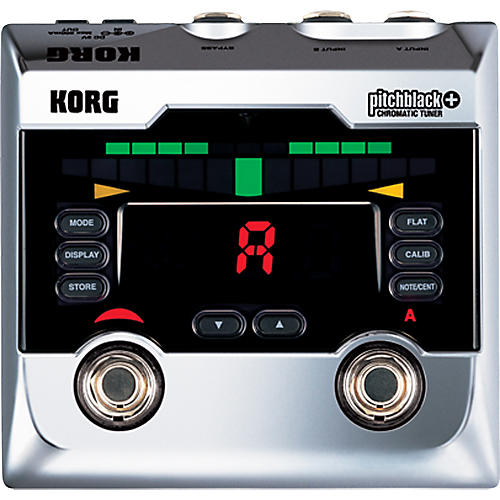 Korg Pitchblack+ Limited Edition Chrome Pedal Tuner thumbnail
