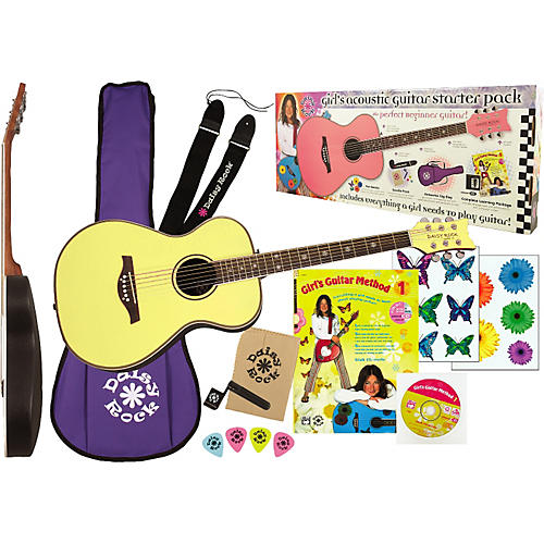 Daisy Rock Pixie Acoustic Guitar Starter Pack thumbnail