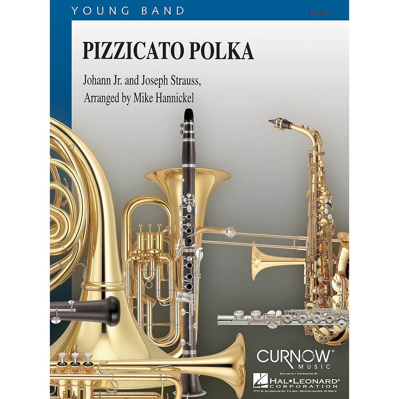 Curnow Music Pizzicato Polka (Grade 2 - Score and Parts) Concert Band Level 2 Arranged by Mike Hannickel thumbnail