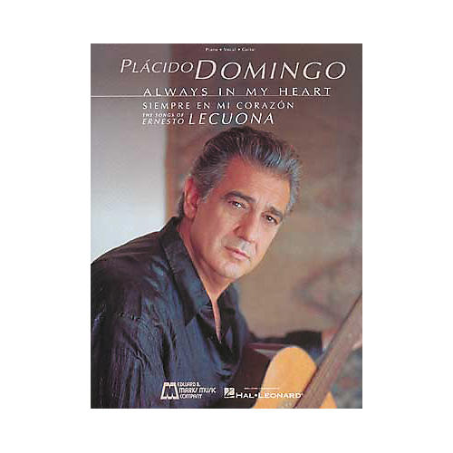Edward B. Marks Music Company Placido Domingo Always in My Heart Piano, Vocal, Guitar Songbook Collection thumbnail