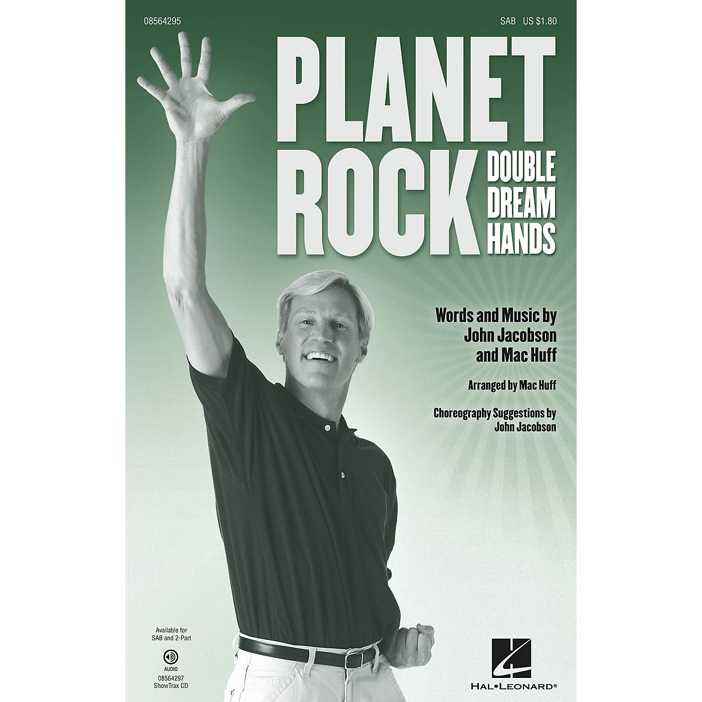 Hal Leonard Planet Rock (a.k.a. Double Dream Hands) SAB composed by John Jacobson thumbnail