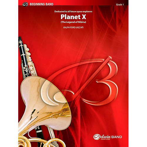 BELWIN Planet X Concert Band Grade 1 (Very Easy) thumbnail