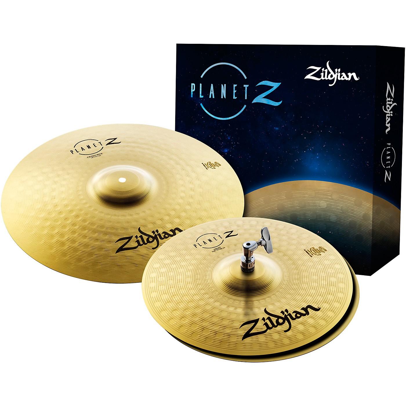 Zildjian Planet Z Fundamentals Cymbal Set thumbnail
