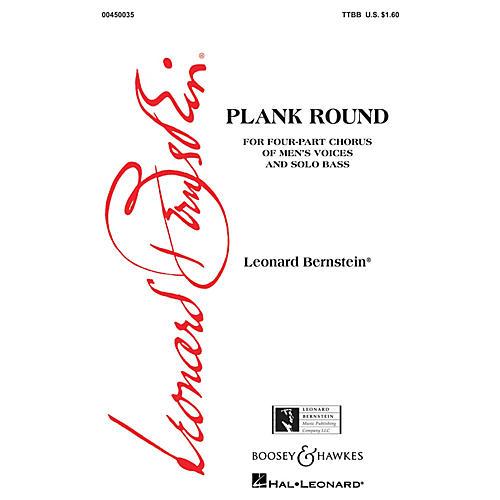 Leonard Bernstein Music Plank Round (from Peter Pan) (TTBB) TTBB Composed by Leonard Bernstein thumbnail