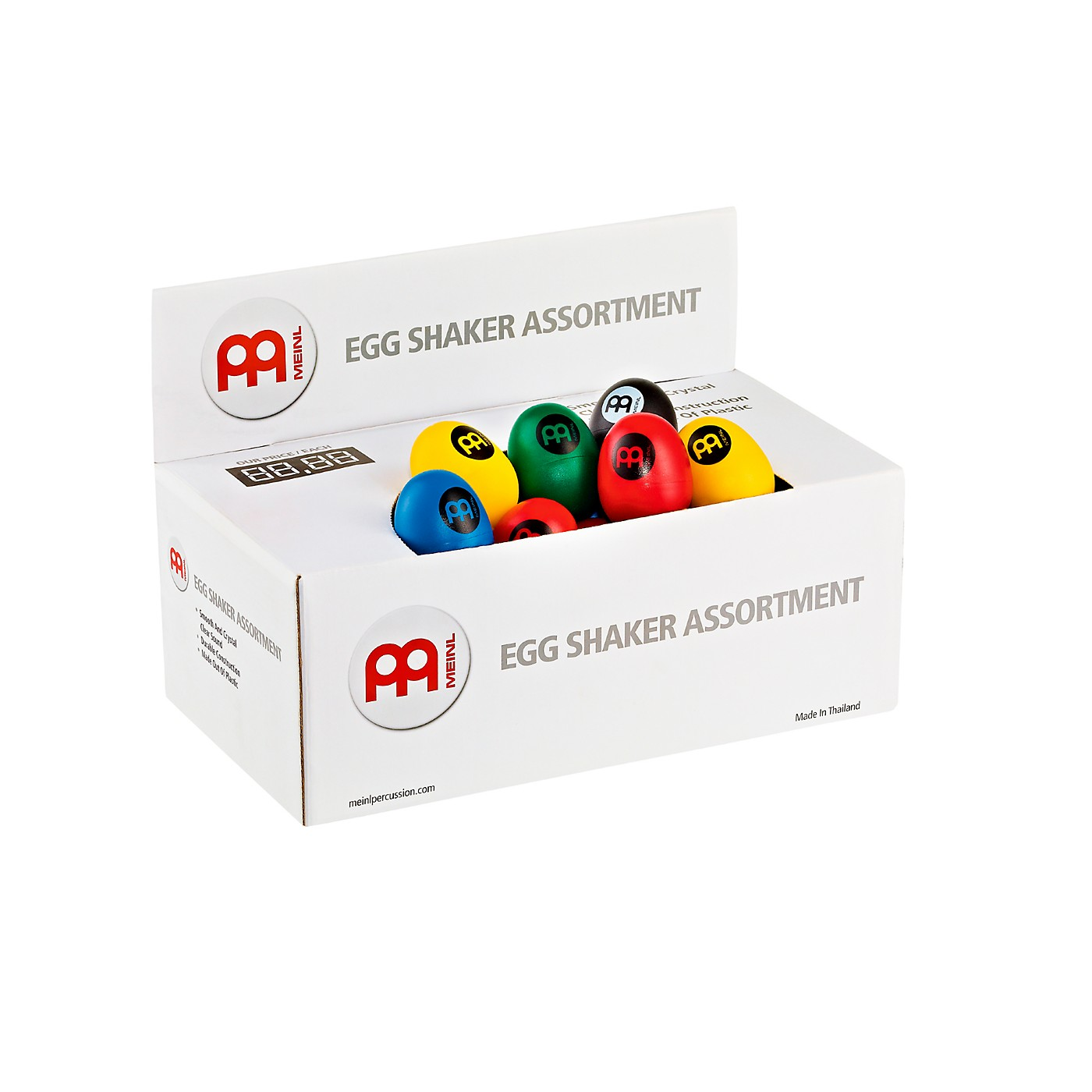 Meinl Plastic Egg Shaker Assortment Box thumbnail