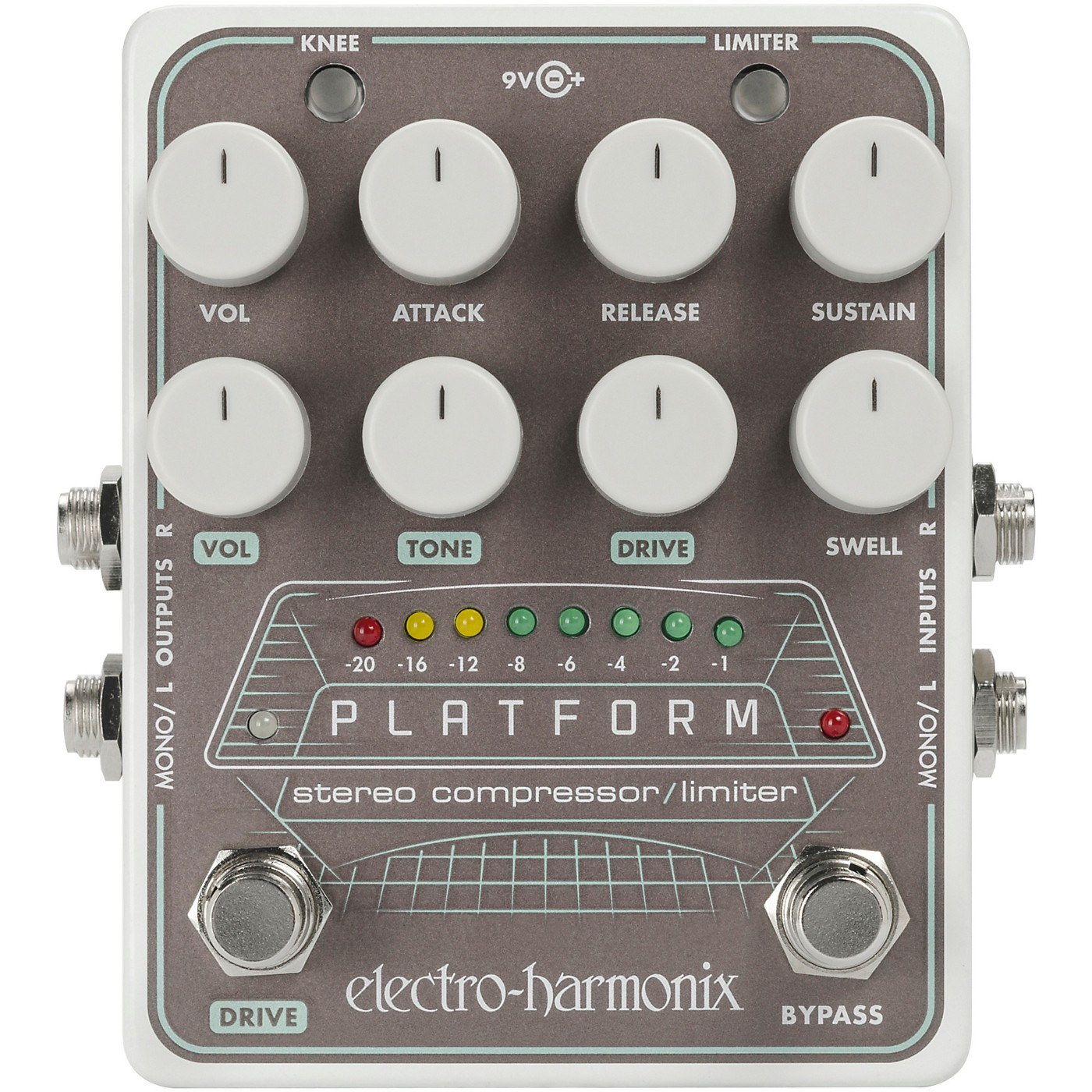 Electro-Harmonix Platform Stereo Compressor/Limiter Pedal thumbnail