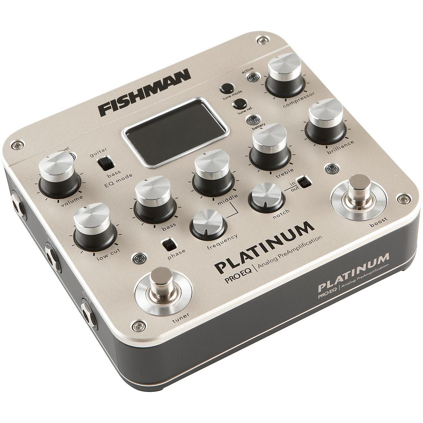 Fishman Platinum Pro EQ Acoustic Guitar Preamp thumbnail