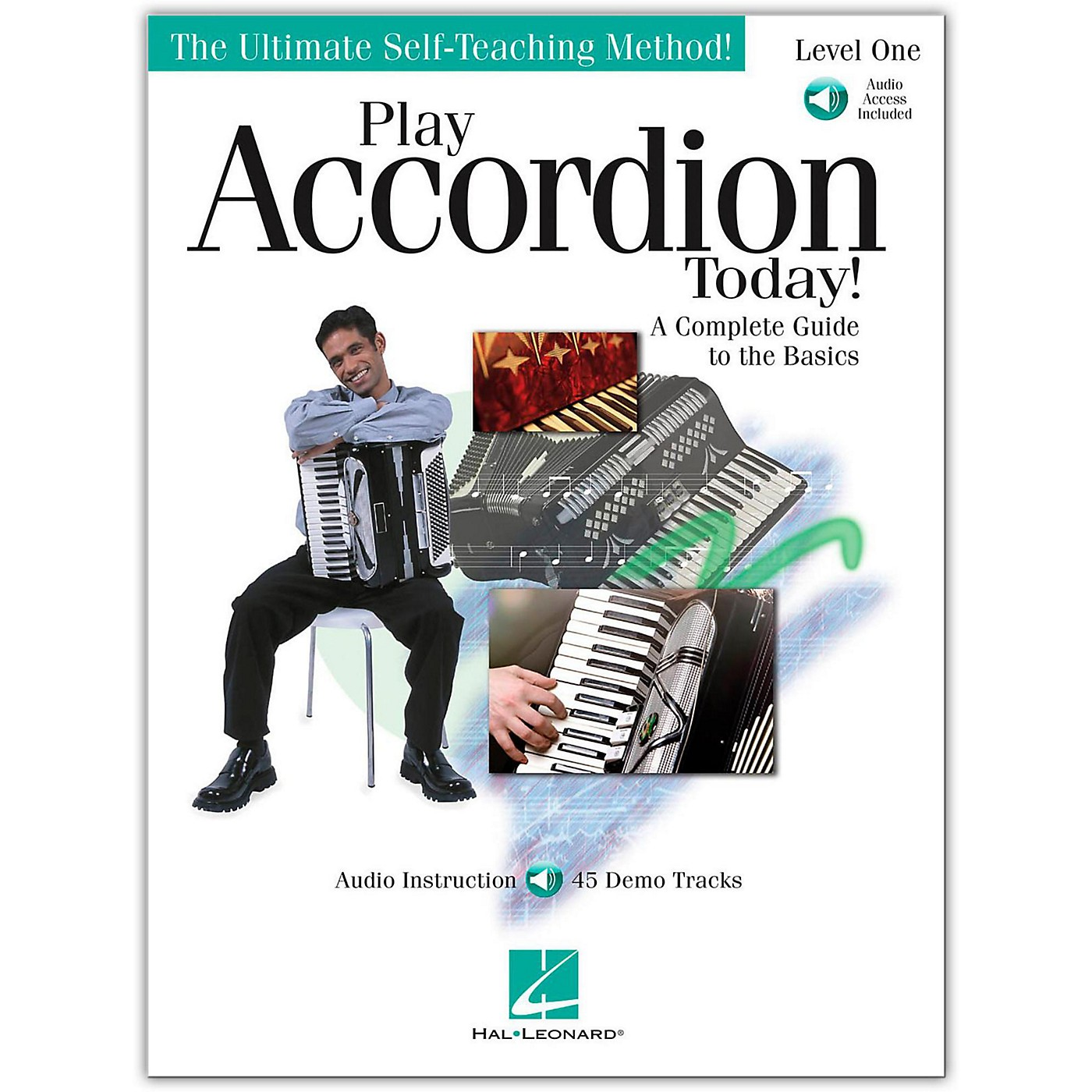 Hal Leonard Play Accordion Today! Level One (Book/Online Audio) thumbnail