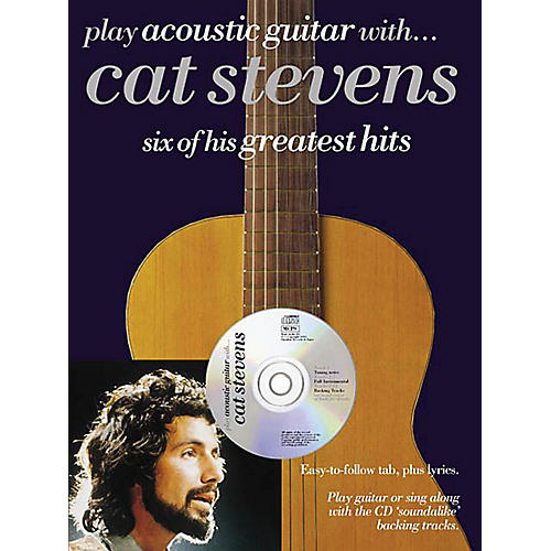 Music Sales Play Acoustic Guitar with...Cat Stevens Music Sales America Series Softcover with CD by Cat Stevens thumbnail