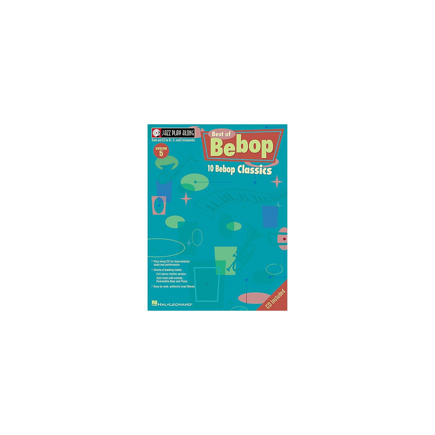 Hal Leonard Play Along Best Of BeBop (Book/CD) thumbnail