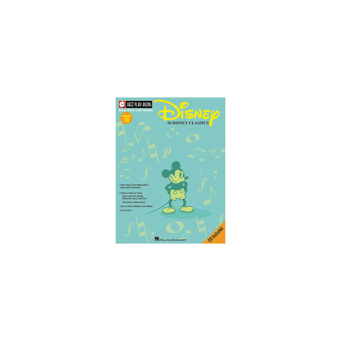 Hal Leonard Play Along Disney Classics (Book/CD) thumbnail