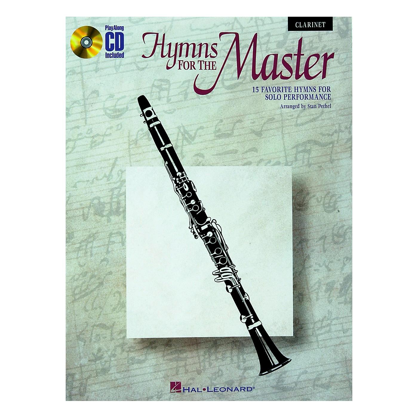 Hal Leonard Play Along Hymns for The Master (Book/CD) thumbnail
