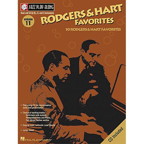 Hal Leonard Play Along Rodgers And Hart Favorites (Book/CD) thumbnail