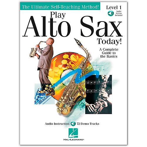 Hal Leonard Play Alto Sax Today! Level 1 (Book/Online Audio) thumbnail