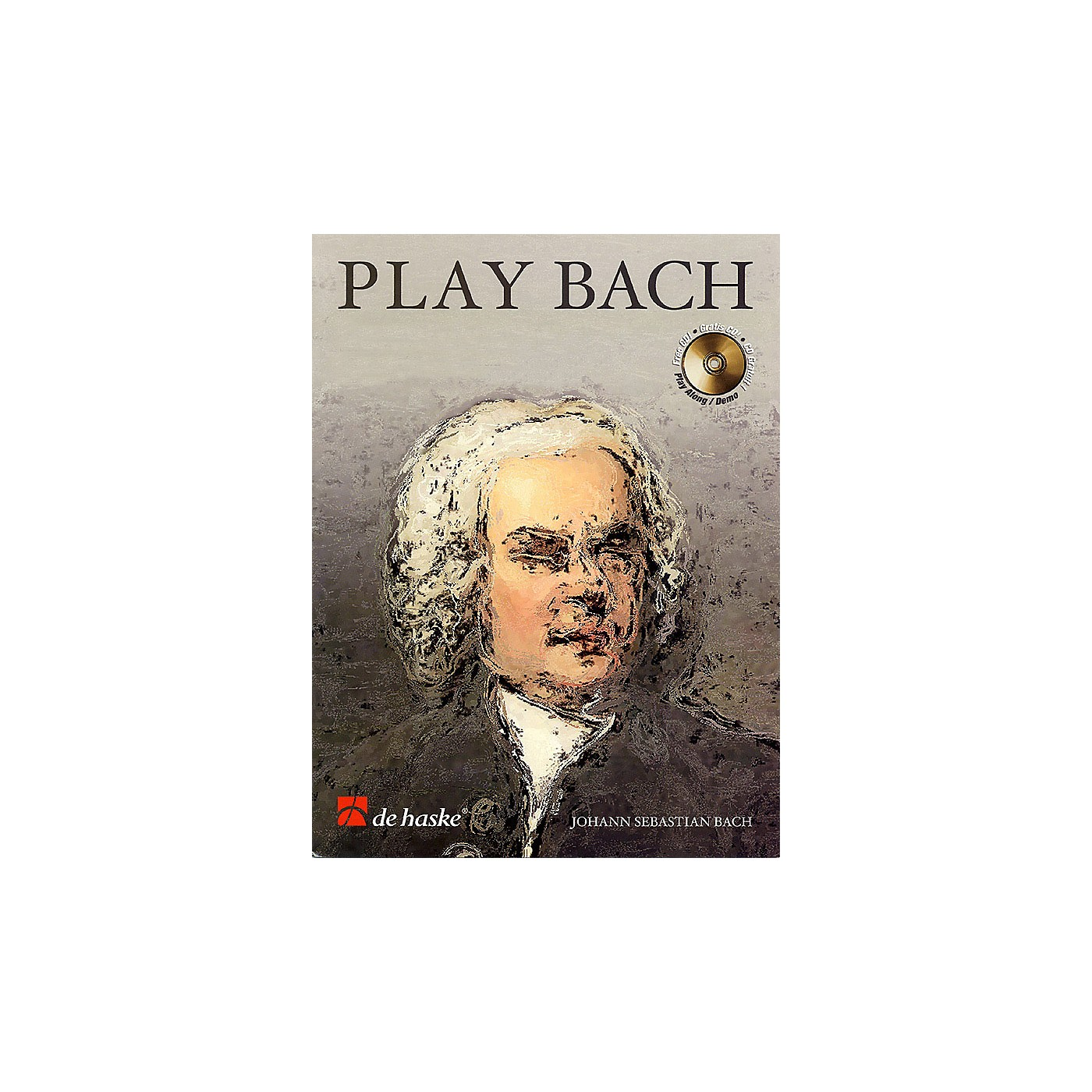De Haske Music Play Bach De Haske Play-Along Book Series Softcover with CD Composed by Johann Sebastian Bach thumbnail