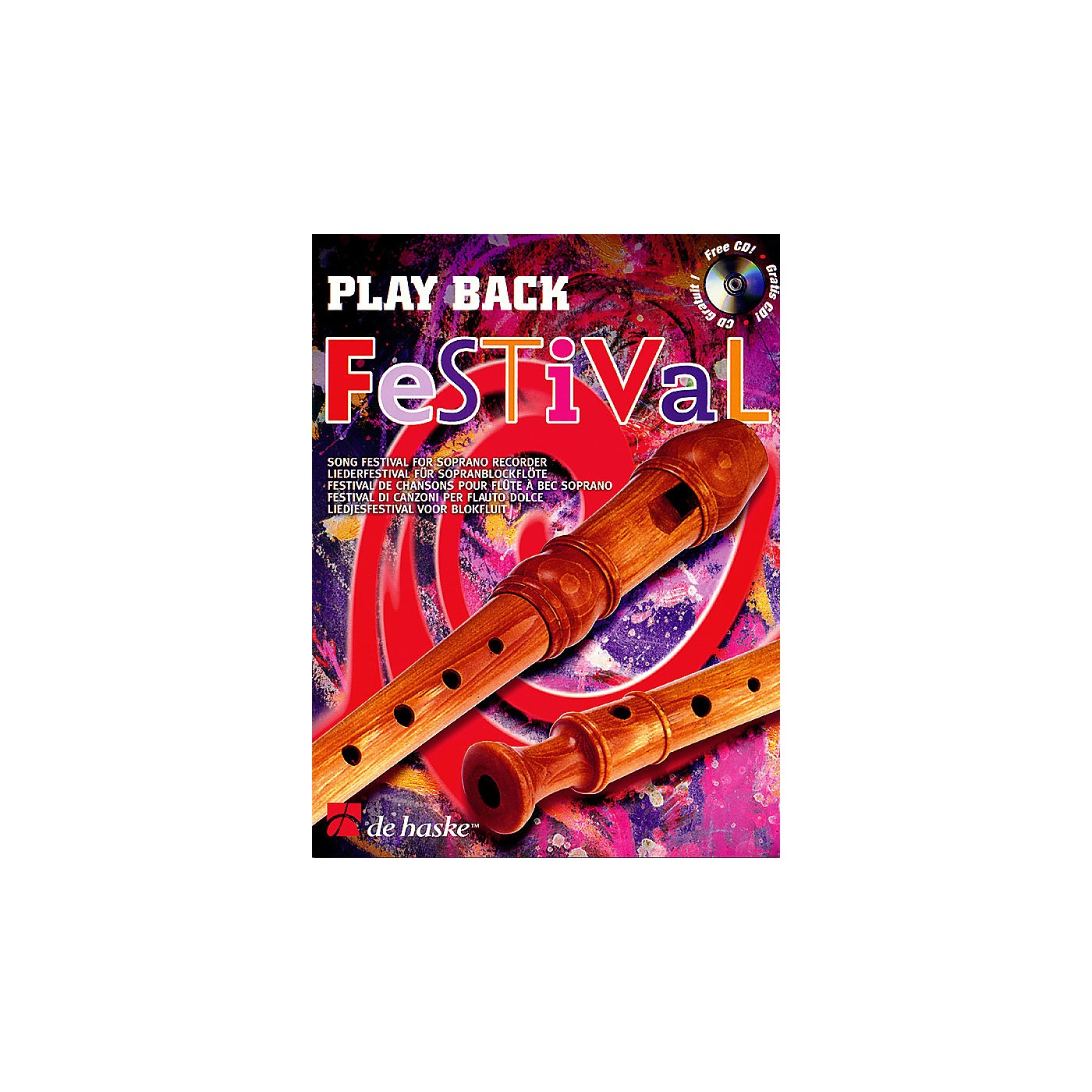 De Haske Music Play Back Festival (Song Festival for Soprano Recorder) De Haske Play-Along Book Series thumbnail