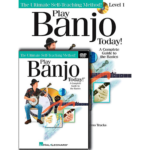 Hal Leonard Play Banjo Today! Beginner's Pack - Includes Book/CD/DVD thumbnail