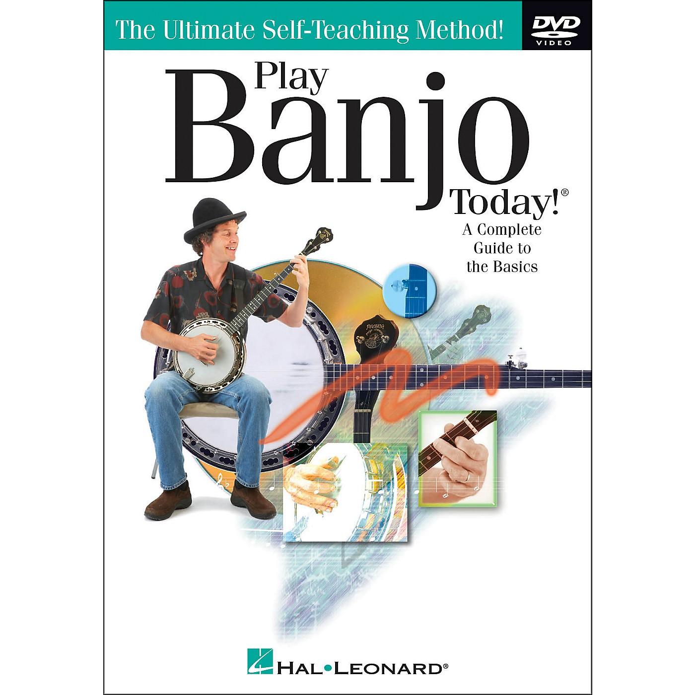Hal Leonard Play Banjo Today! DVD thumbnail