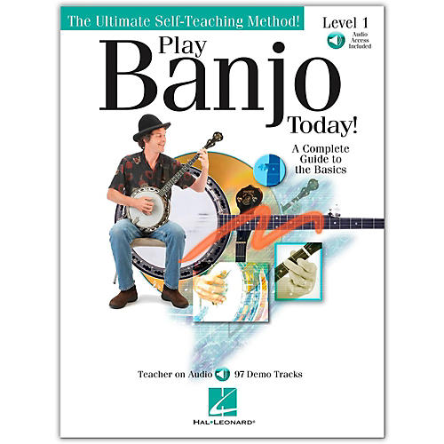 Hal Leonard Play Banjo Today! Level One - A Complete Guide To the Basics (Book/Online Audio) thumbnail