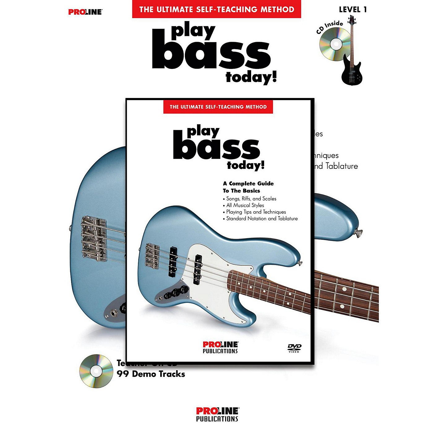 Proline Play Bass Today! (Book/DVD Pack) thumbnail