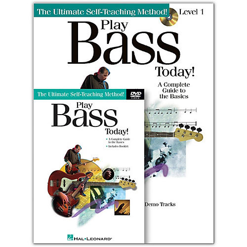Hal Leonard Play Bass Today! Level One (Book/Online Media) thumbnail