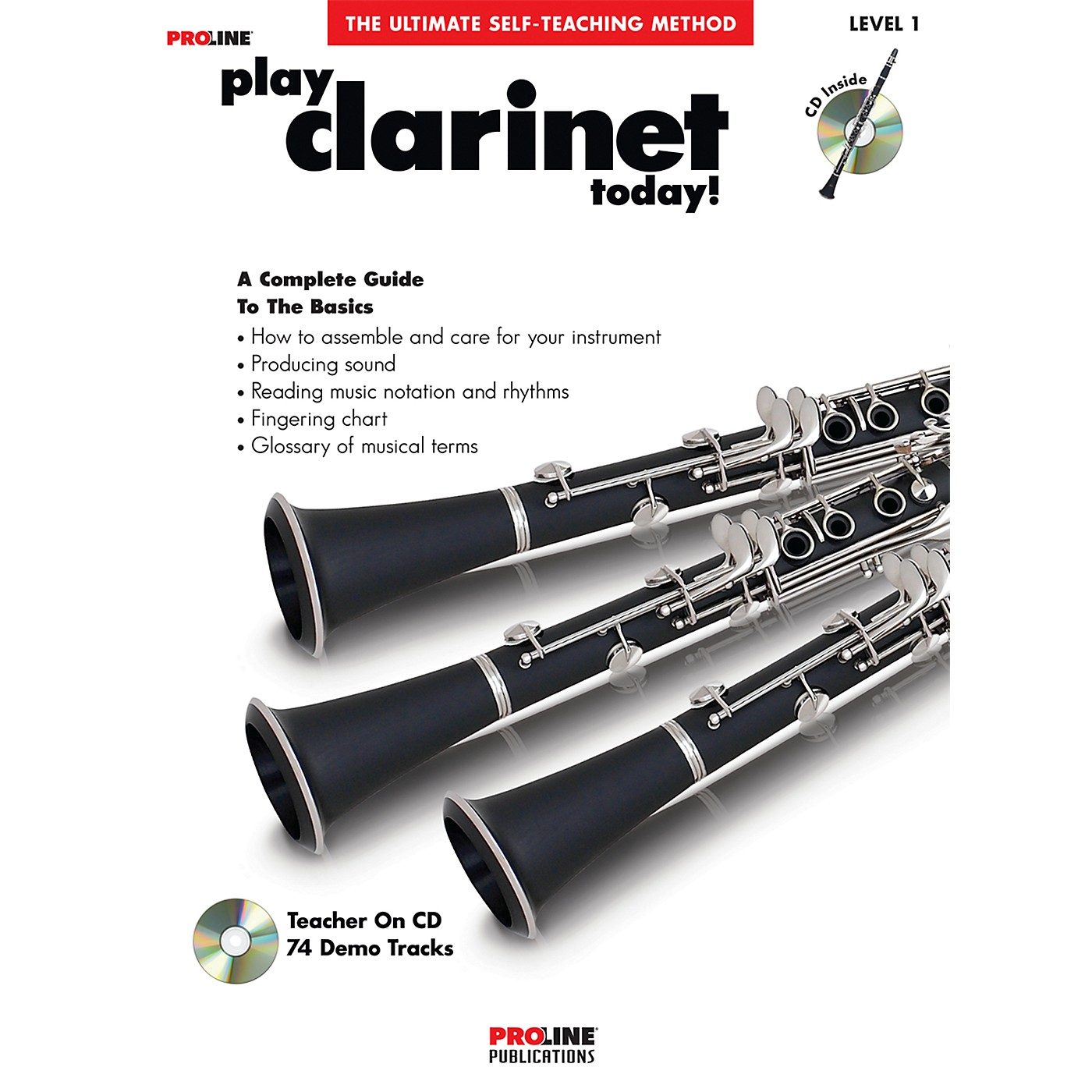 Proline Play Clarinet Today Book/CD thumbnail