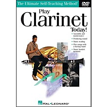 Hal Leonard Play Clarinet Today! DVD