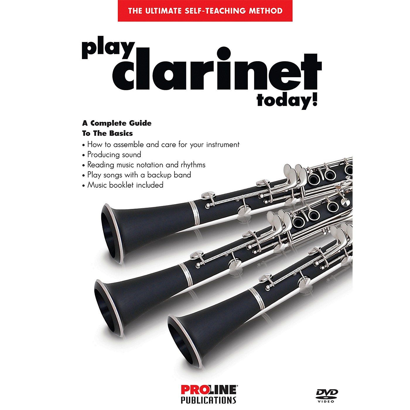 Proline Play Clarinet Today DVD thumbnail