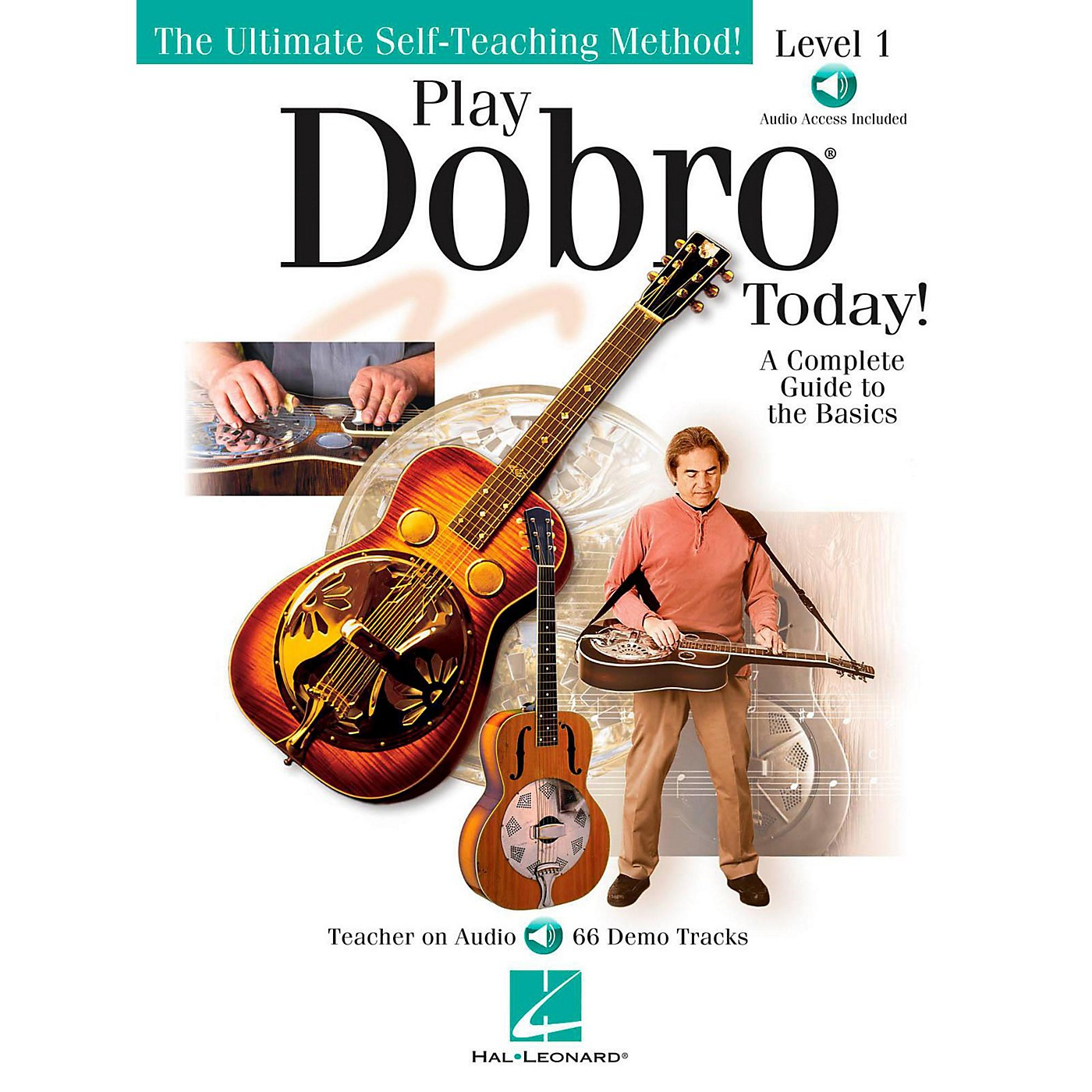 Hal Leonard Play Dobro Today!  Level One (Book/Audio Online) thumbnail