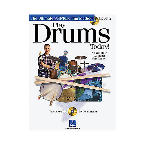 Hal Leonard Play Drums Today! - Level 2 (Book/CD) thumbnail