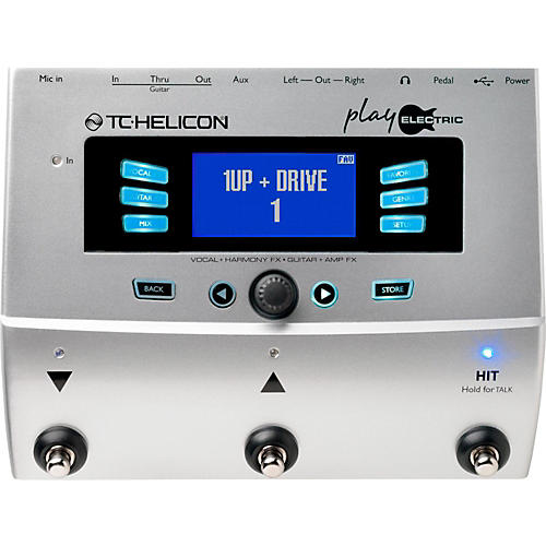 TC Helicon Play Electric Voice Processor for Electric Guitarists thumbnail