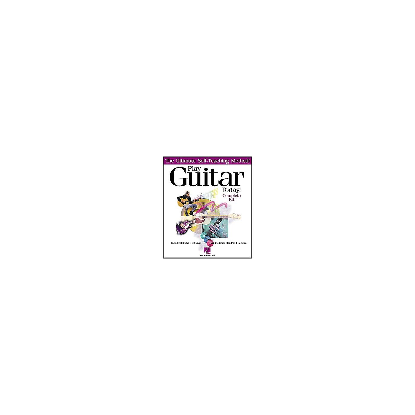 Hal Leonard Play Guitar Today! - Complete Kit (Book/CD) thumbnail