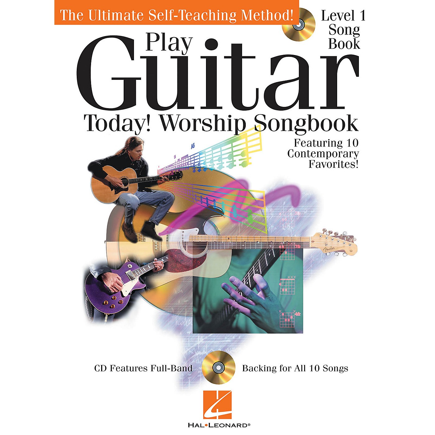 Hal Leonard Play Guitar Today! - Worship Songbook Play Today Instructional Series Series Softcover with CD by Various thumbnail
