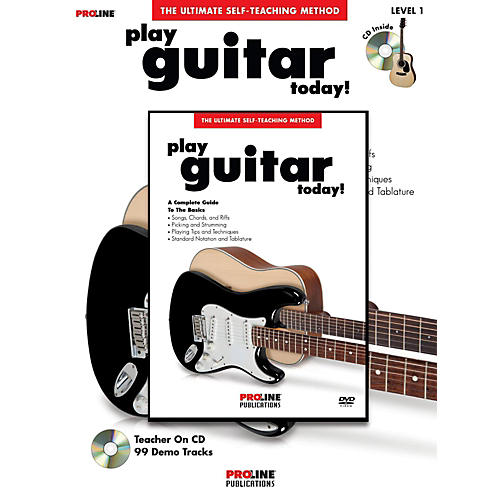 Proline Play Guitar Today! (Book/DVD Pack) thumbnail