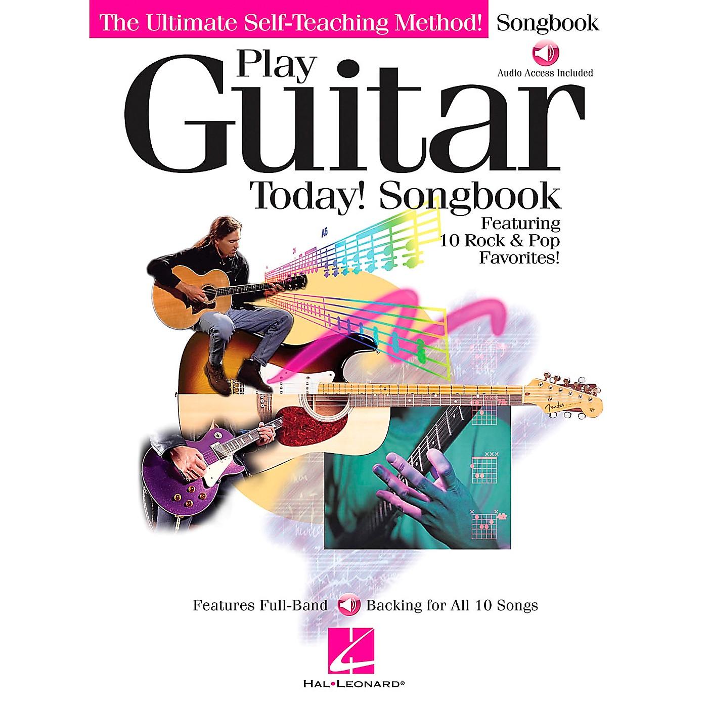 Hal Leonard Play Guitar Today! Companion Guitar Tab Songbook thumbnail