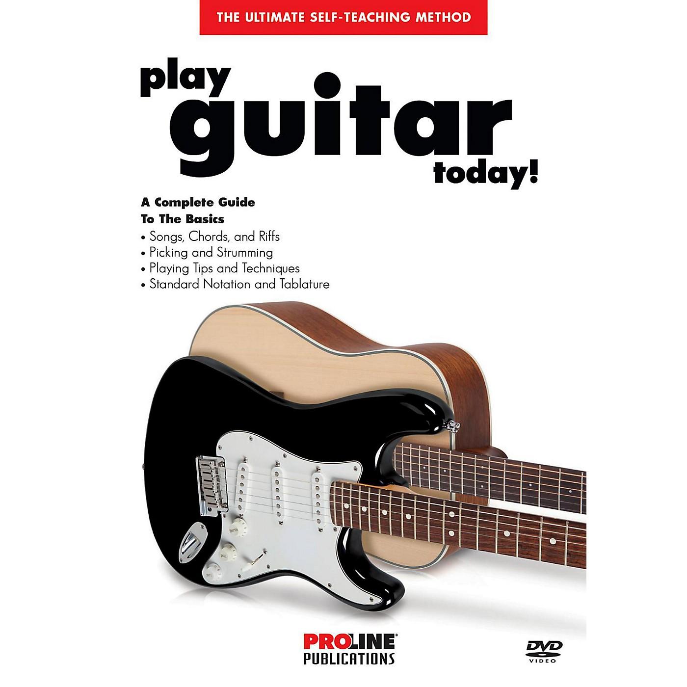 Proline Play Guitar Today! (DVD) thumbnail