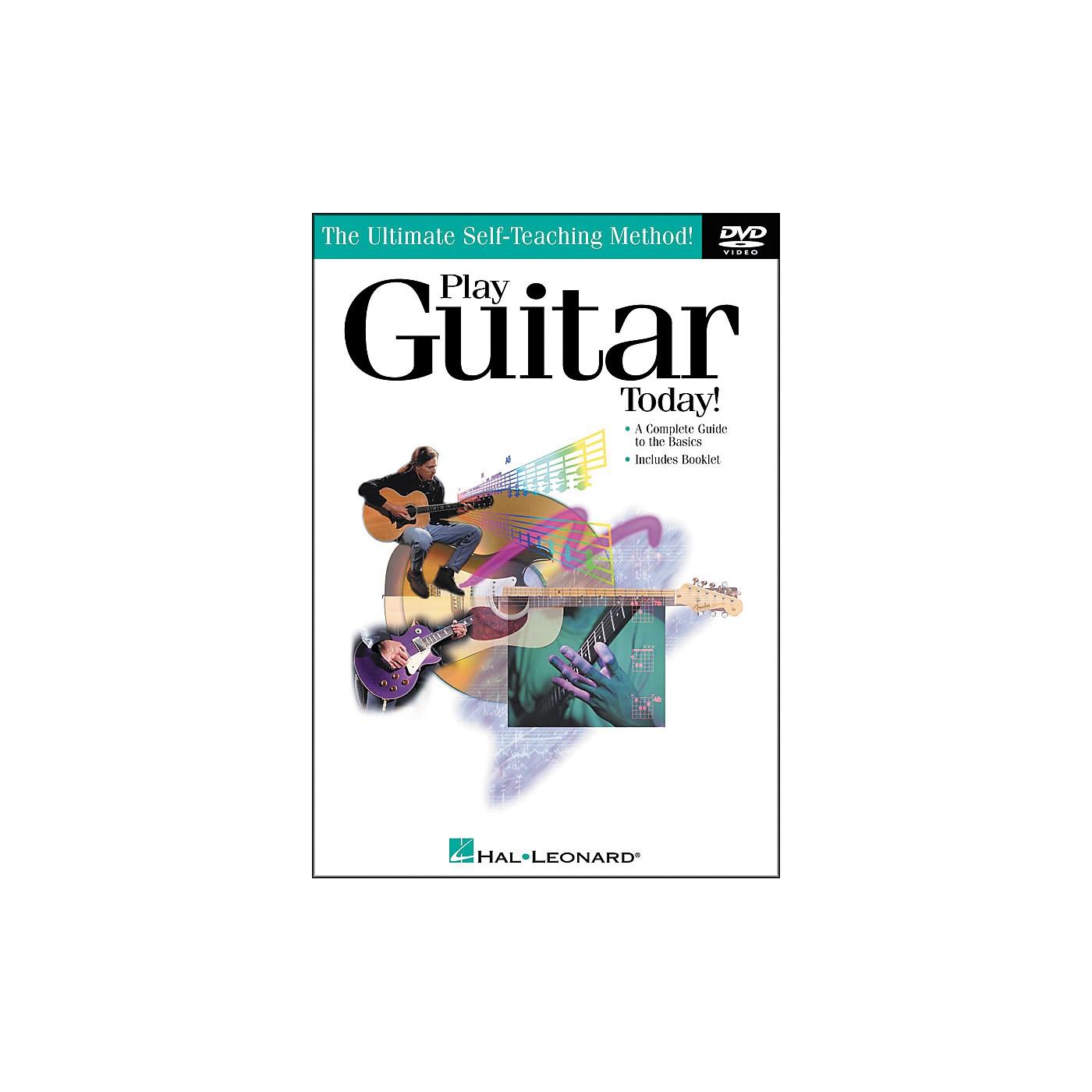 Hal Leonard Play Guitar Today! DVD thumbnail