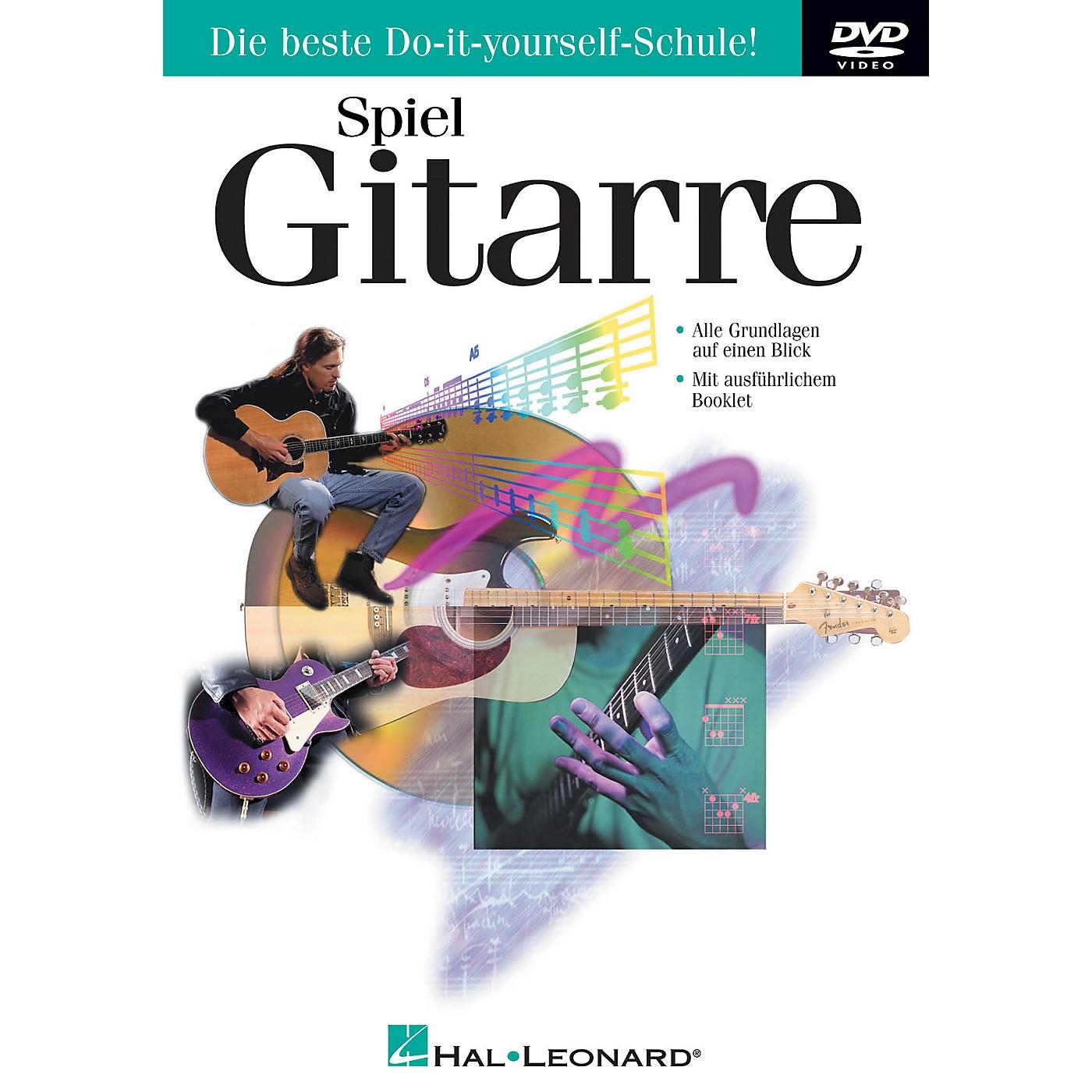 Hal Leonard Play Guitar Today (Spiel Gitarre) DVD Series DVD Written by Doug Boduch thumbnail
