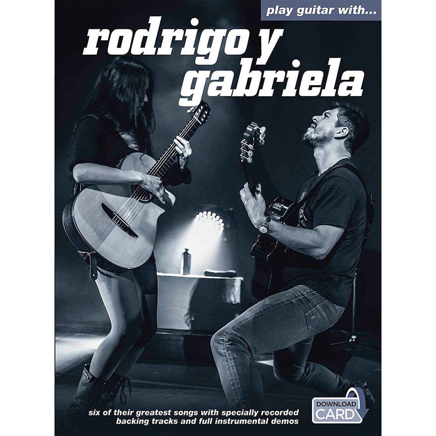Music Sales Play Guitar With Rodrigo Y Gabriela (Book/Online Audio) thumbnail