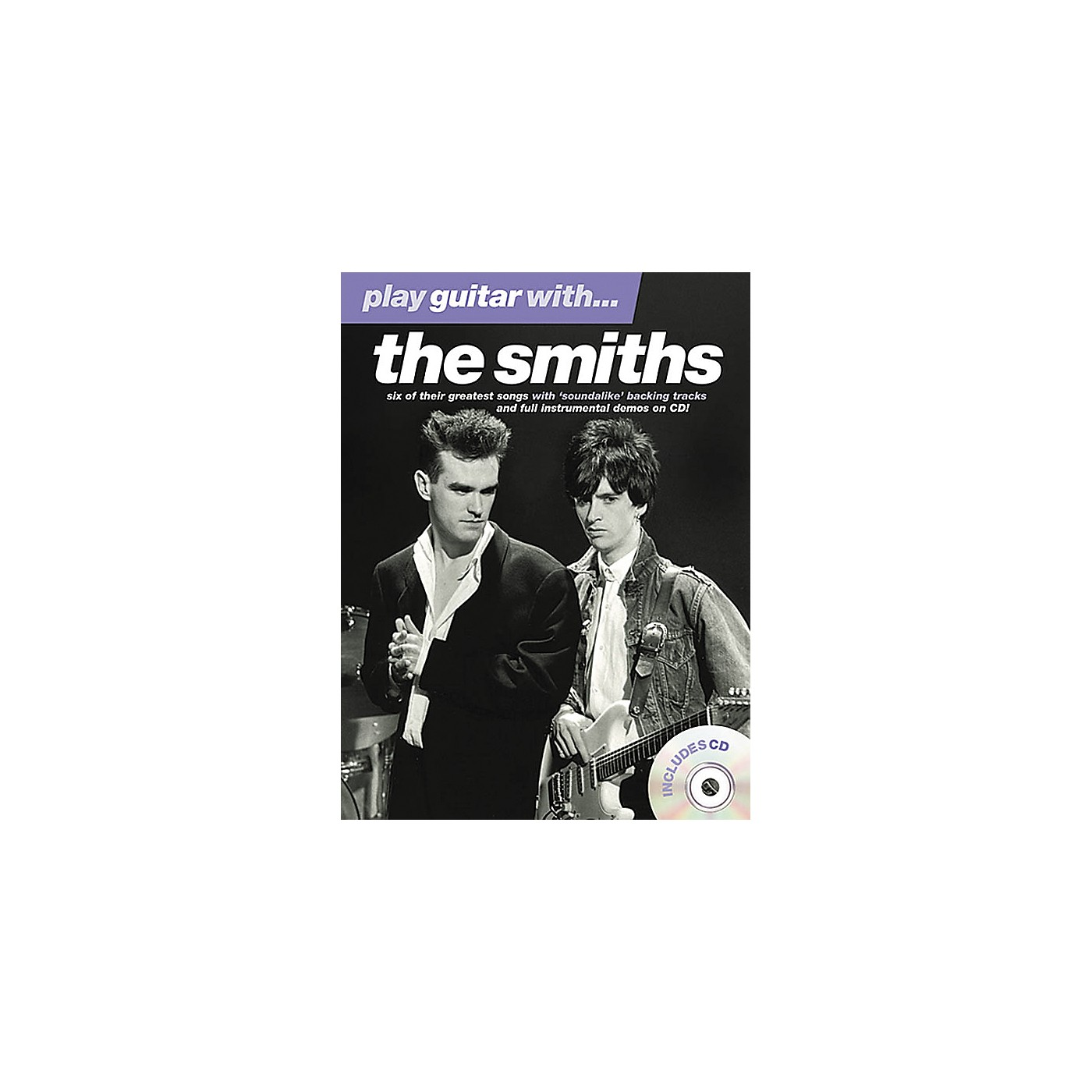 Music Sales Play Guitar With The Smiths Book/CD thumbnail