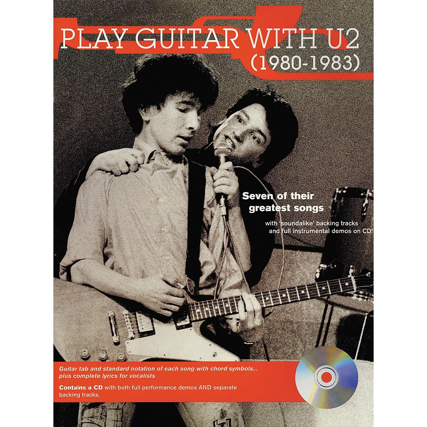 Hal Leonard Play Guitar with U2 (1980-1983) Book with CD thumbnail