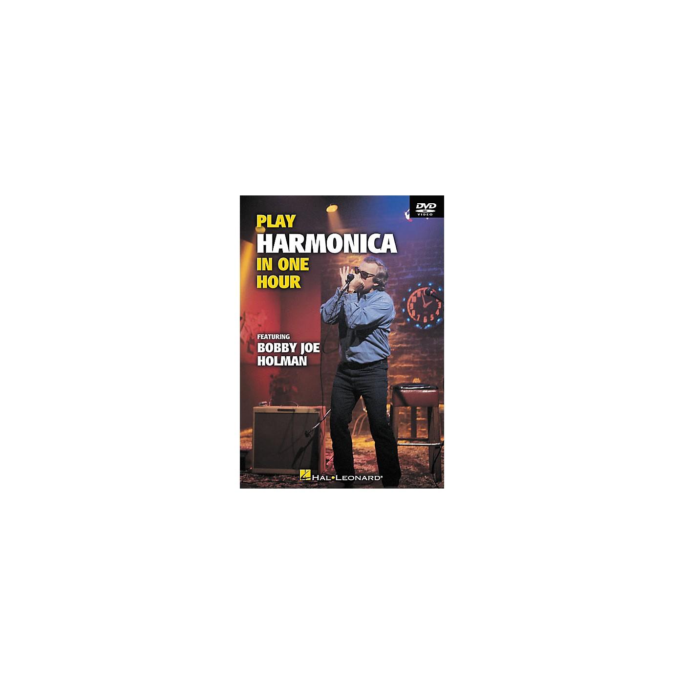 Hal Leonard Play Harmonica In One Hour (DVD) thumbnail