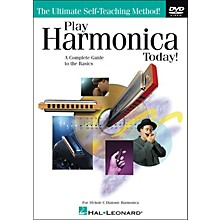 Hal Leonard Play Harmonica Today! DVD