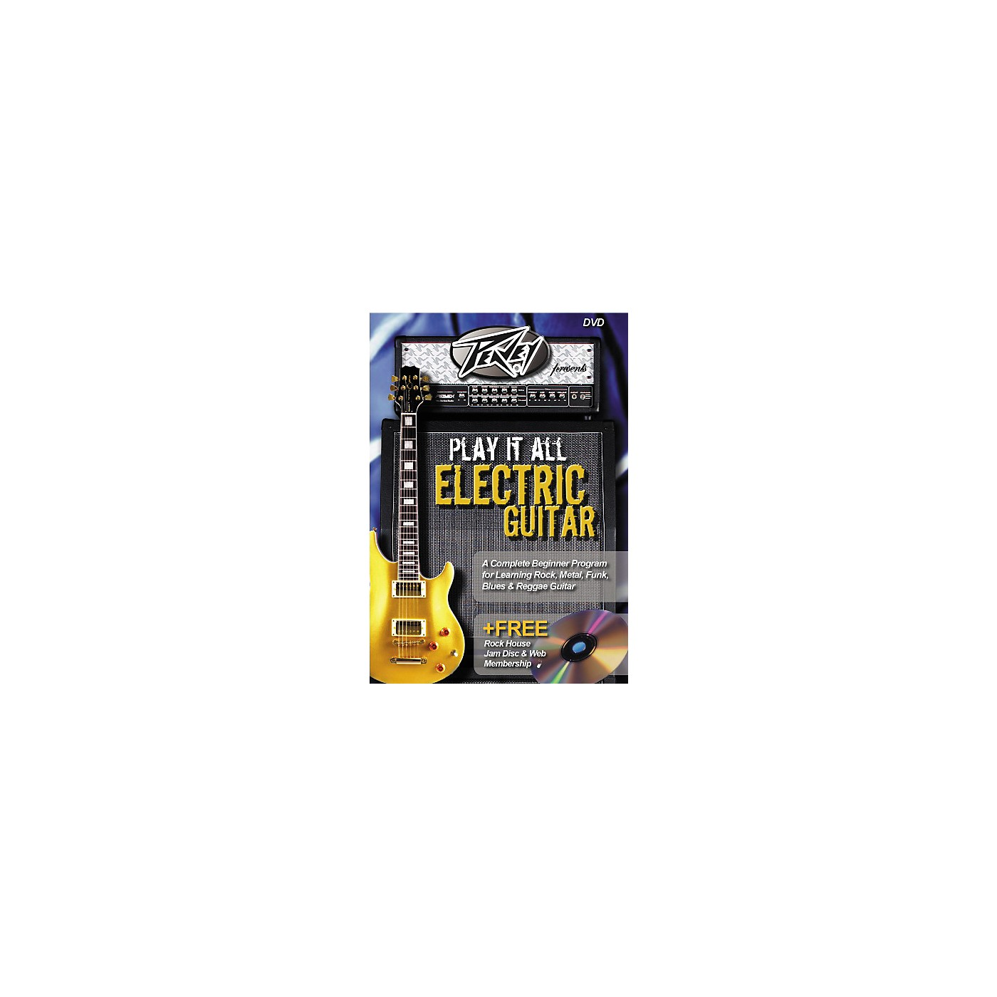 Hal Leonard Play It All Electric Guitar (DVD) thumbnail