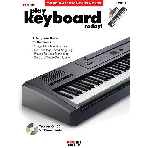 Proline Play Keyboard Today! (Book/CD) thumbnail