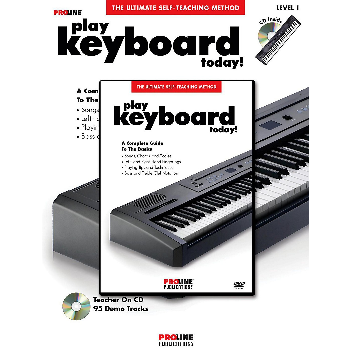 Proline Play Keyboard Today! (Book/DVD Pack) thumbnail