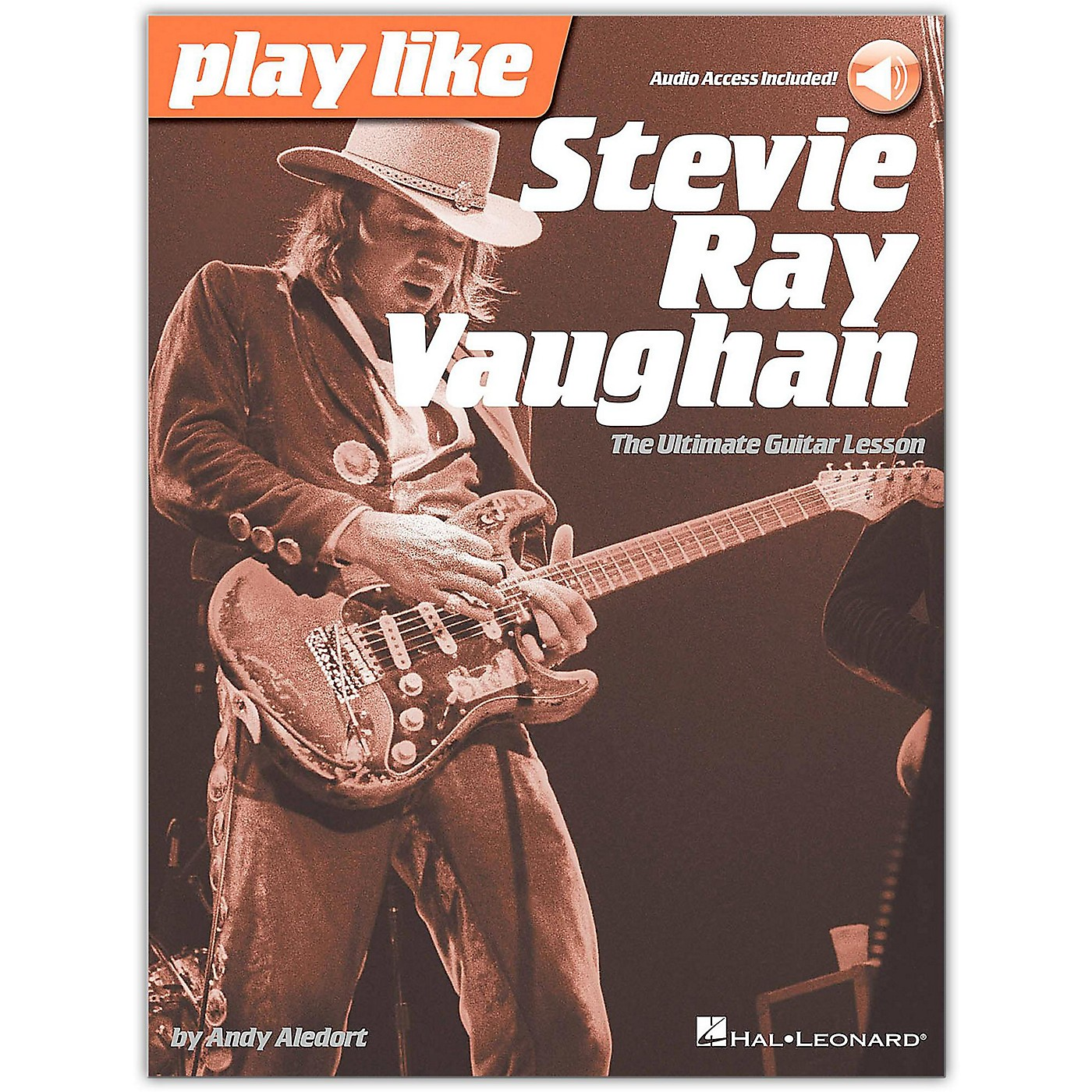 Hal Leonard Play Like Stevie Ray Vaughan - The Ultimate Guitar Lesson Book/Online Audio thumbnail