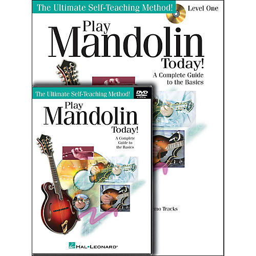 Hal Leonard Play Mandolin Today! Beginner's Pack - (Book/CD/DVD) thumbnail